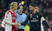 Ramos bị nghi tẩy thẻ trong trận đấu thứ 600 cho Real