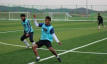Đức Lương chia sẻ về buổi đầu tập luyện ở đội bóng Hàn Quốc