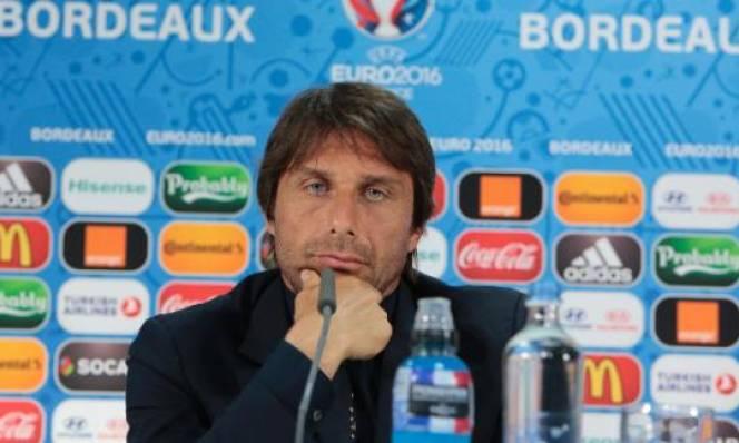 Conte tự hào với ĐT Italia