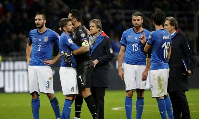 Một thế hệ sụp đổ trong ngày đen tối bóng đá Italia