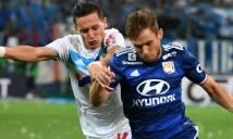 Lyon chia điểm với chủ nhà Marseille tại Velodrome