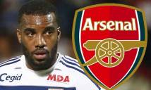 Arsenal bị hét giá vụ Lacazette