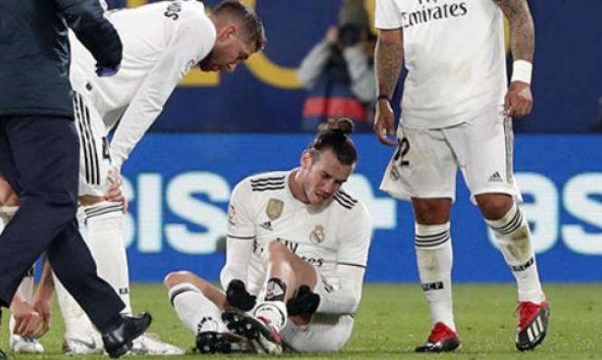 Bale dính chấn thương thứ 18 từ khi tới Real