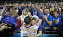 Bị loại, Iceland vẫn ăn mừng đầy phấn khích