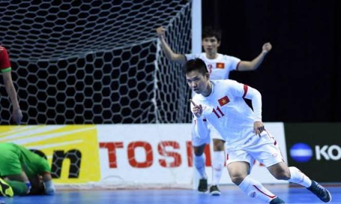 Tuyển futsal Việt Nam để lọt lưới nhiều nhất giải futsal Châu Á