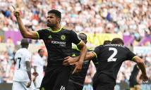 Costa tỏa sáng, Chelsea chật vật hòa Swansea