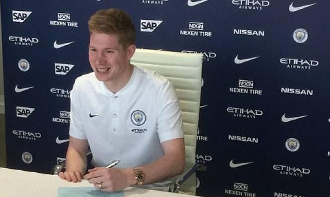 CHÍNH THỨC: De Bruyne ký hợp đồng 'khủng' với Man City