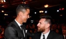 Ronaldo: 'Cuộc cạnh tranh với Messi mới vừa bắt đầu'
