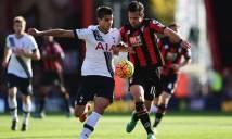 Bournemouth vs Tottenham, 18h30 ngày 22/10: Tạm chiếm ngôi đâu