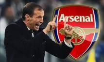 Sếp lớn Juventus mang tin sầu đến với Arsenal