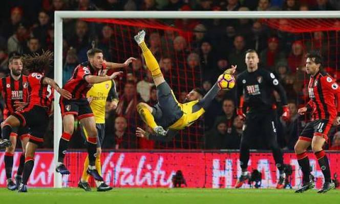 SOI SỐ BÀN THẮNG Bournemouth - Arsenal , 20H30 NGÀY 14/1 (Vòng 23 Premier League)