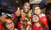Danh thủ Sol Campbell nói gì khi đặt chân đến Việt Nam?