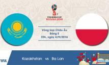 Kazakhstan vs Ba Lan, 23h00 ngày 04/09: Vị thế cửa trên