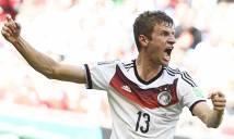 Lên tuyển Đức là cơ hội để Mueller giải tỏa