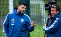 Man City và Argentina mâu thuẫn vì Aguero