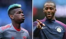 Yaya Toure gây sốc, muốn ở lại Manchester để đá cặp với Pogba
