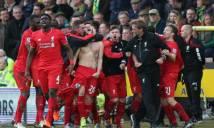 Klopp phấn khích sau trận thắng 'điên rồ' trước Norwich