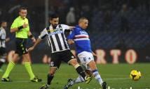 Nhận định Sampdoria vs Udinese, 21h00 ngày 25/02 (Vòng 26 - VĐQG Italia)