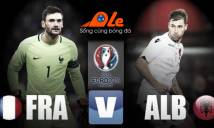 [Infographic] Pháp vs Albania: Gà trống mài cựa