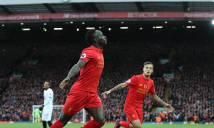 Hủy diệt Watford, Liverpool lên đầu bảng