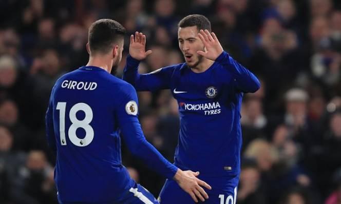 BẢN TIN TIP, TLCA 13/2: Giroud ra mắt hoàn hảo, Hazard tri ân nhà đầu tư