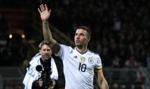 Đức hạ gục Anh nhờ siêu phẩm của Podolski trong ngày chia tay