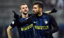 Inter nhọc nhằn giành vé vào tứ kết Coppa Italia sau cơn mưa bàn thắng