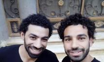 Thương gia Ai Cập giống Salah như anh em sinh đôi