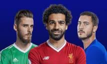 Lộ diện ĐH xuất sắc nhất mùa của Premier League