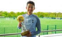 Tỏa sáng ở Tottenham, Son Heung Min tiếp tục được vinh danh với giải thưởng quý giá