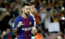 Barca thắng hủy diệt: Messi lập poker, cán những mốc son chói lọi