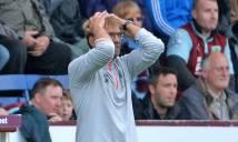 Klopp biện minh cho thất bại muối mặt trước Burnley