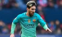 Osasuna là đội bóng tiếp theo lọt vào danh sách con mồi ưa thích của Messi