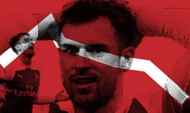 Ramsey: Biểu tượng một thời đại buồn tênh của Arsenal