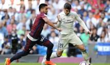 Nhận định Real Madrid vs Eibar 01h45, 23/10 (Vòng 9 - VĐQG Tây Ban Nha)