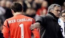 Iker Casillas tiết lộ lí do bất ngờ khiến Mourinho 'đày ải' anh trên ghế dự bị