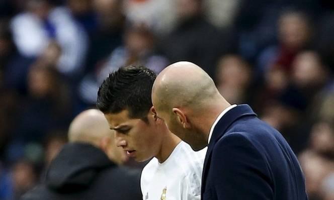 James Rodriguez tiếp tục 'trách khéo' Zidane
