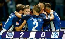 Schalke chìm sâu vào khủng hoảng khi thua trận thứ 3 liên tiếp