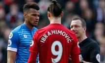 Kẻ 'đè đầu cưỡi cổ' Ibra nhận án phạt từ FA