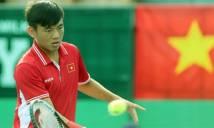Quần vợt Việt Nam gặp khó khăn bởi chấn thương của Hoàng Nam