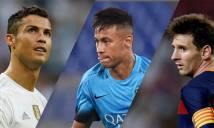 Neymar không thích bị so sánh với Ronaldo và Messi