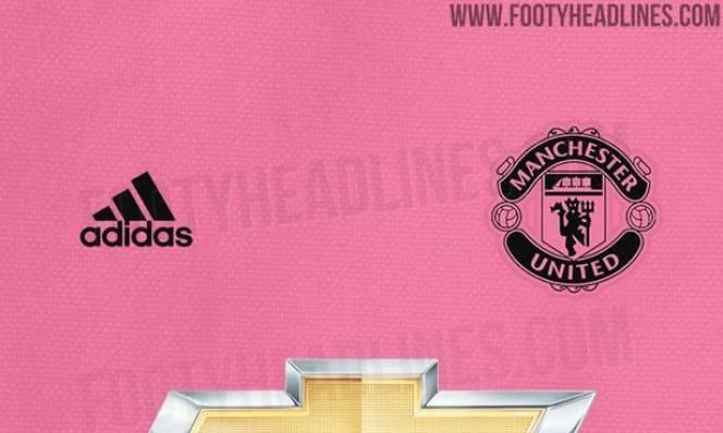 Rò rỉ áo đấu màu hồng của M.U mùa 2018/19