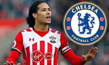 NÓNG: Virgil van Dijk tới London, ký hợp đồng với Chelsea để trở thành hậu vệ đắt giá nhất thế giới