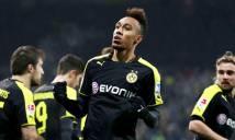 Aubameyang tiếp tục ghi bàn, Dortmund bắn hạ bầy sói Wolfsburg