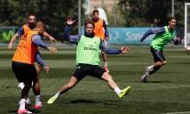 Chùm ảnh: Dàn sao Real Madrid chuẩn bị cho chuyến hành quân đến 'hang Dơi'