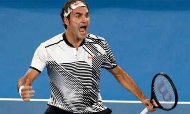 Ngược dòng đánh bại Nishikori, Federer lọt vào tứ kết Australian Open