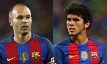 Barca lên kế hoạch giữ 'Iniesta đệ nhị' ở lại