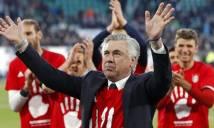 Vì sao HLV Ancelotti không vui dù giành cúp bạc Bundesliga?