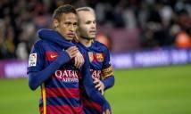 Iniesta thừa nhận Neymar dễ đến Real hơn về lại Barca