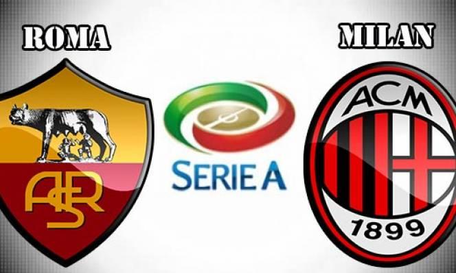 Roma vs Milan, 3h00 ngày 13/12: Tìm lại ánh hào quang